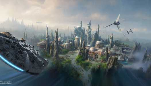 Star Wars Galaxy's Edge attractions get their official names and new ride footage revealed