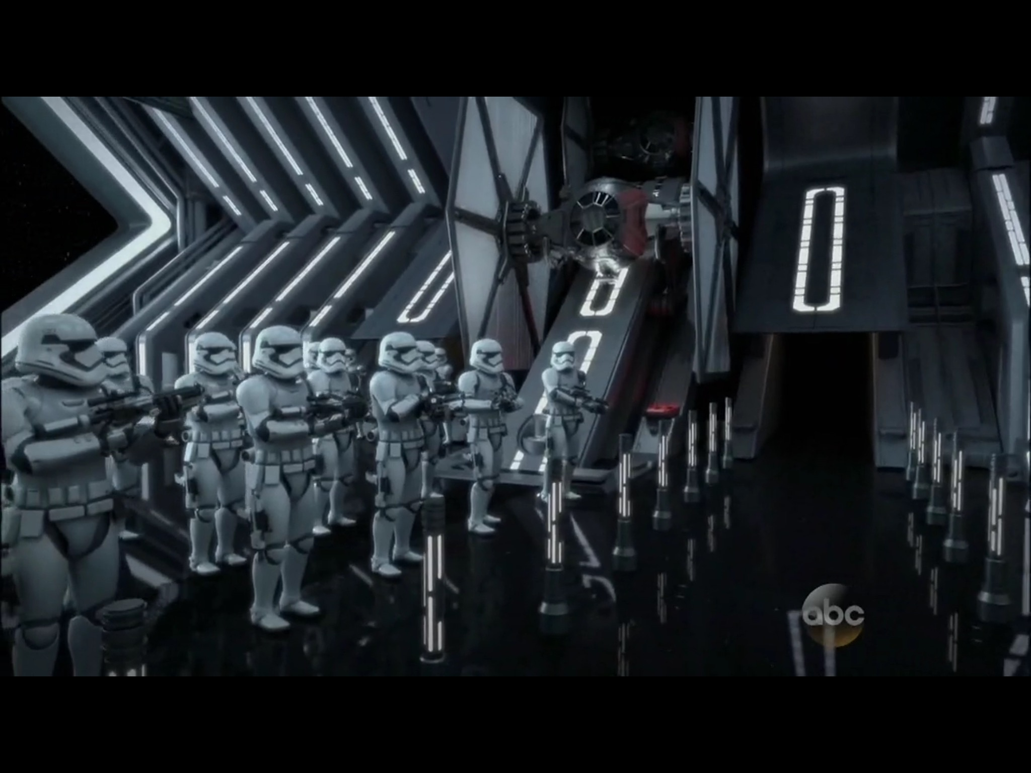 Star Wars Land First Order Stormtrooper Battle attraction