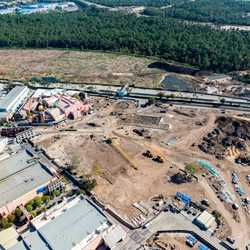 Star Wars Land aerial views