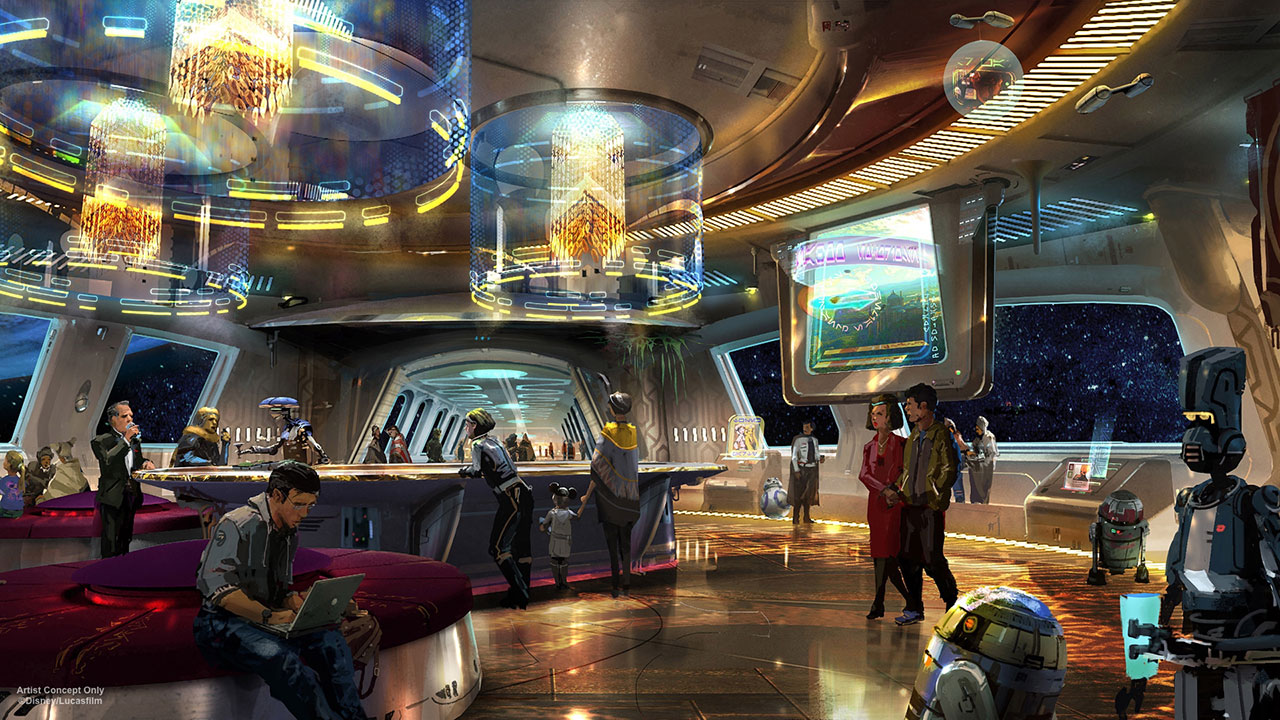 Star Wars Resort concept art