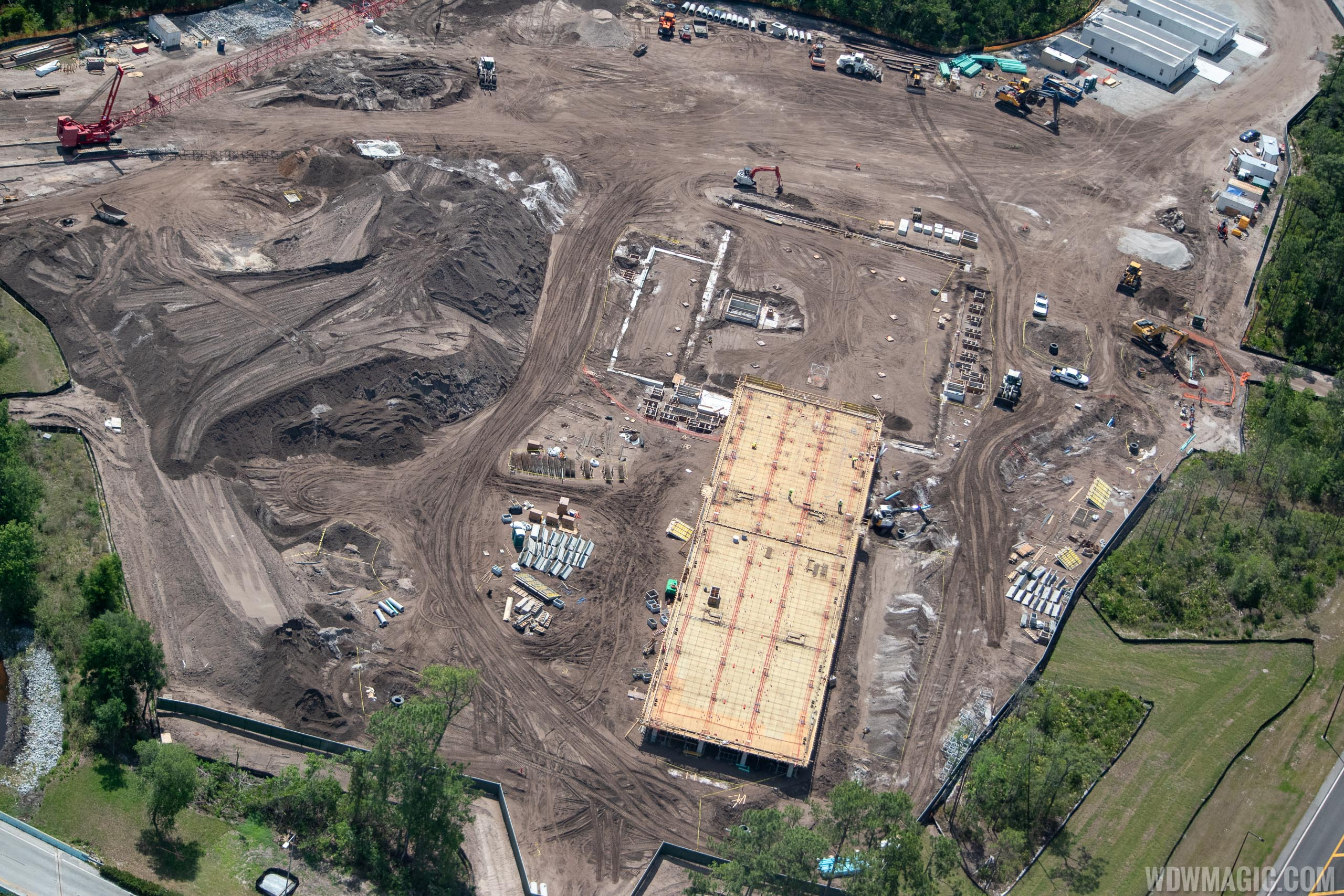 Star Wars hotel construction at Walt Disney World - May 2019