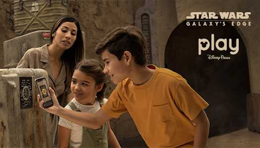 Disney describes more of how your phone will become your Star Wars Datapad at Star Wars Galaxy's Edge