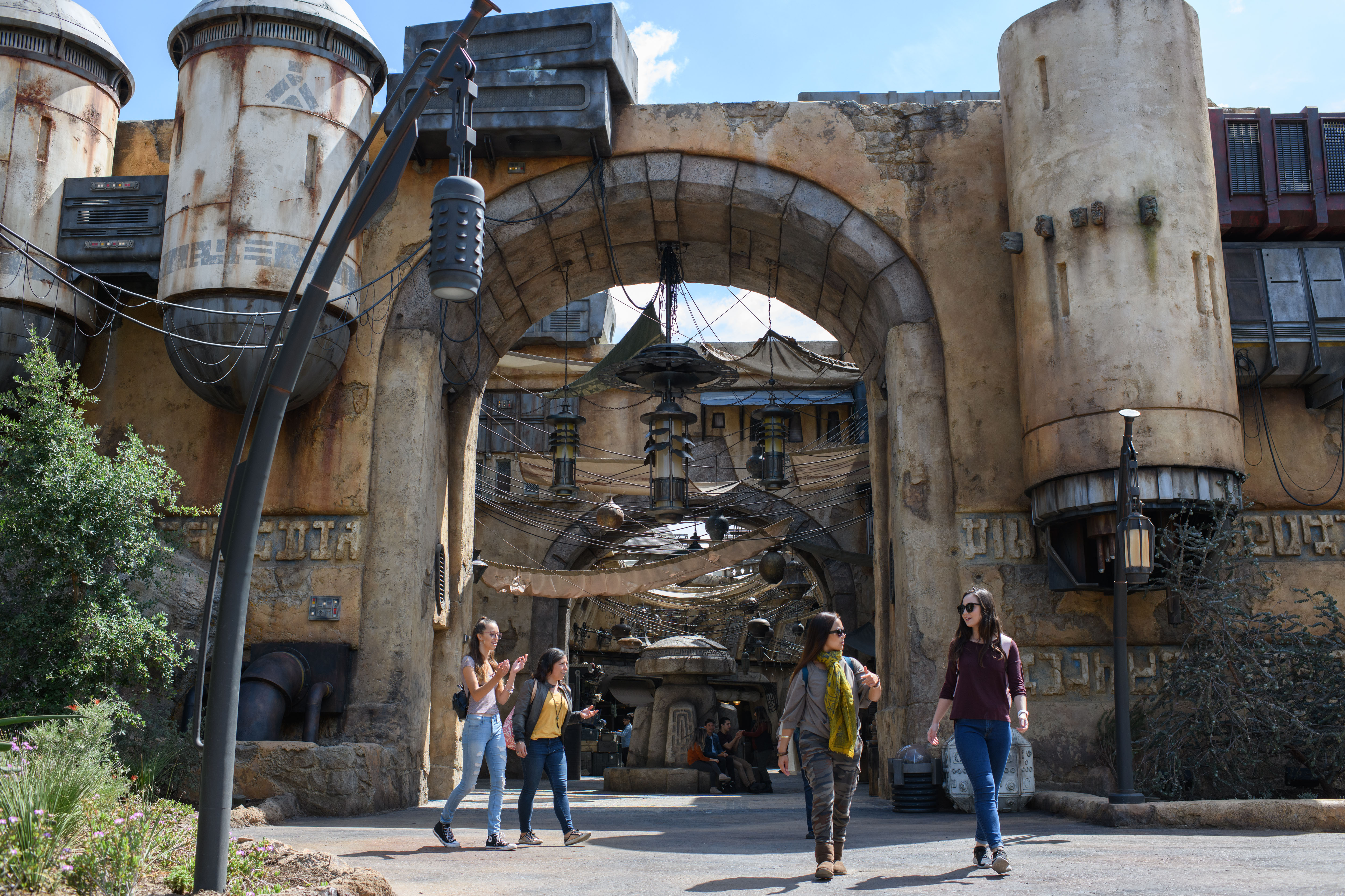 Star Wars Galaxy's Edge Marketplace