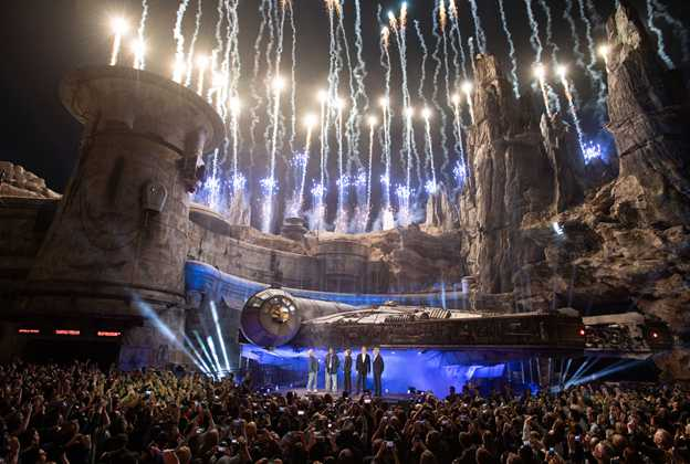 Star Wars Galaxy's Edge Disneyland Grand Opening Ceremony
