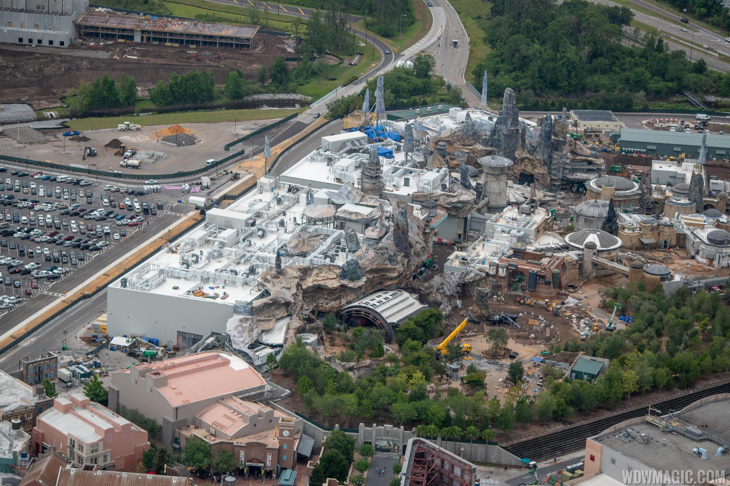Star Wars hotel construction at Walt Disney World - June 2019