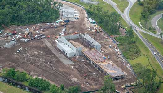 PHOTOS - Latest construction pictures of the Star Wars hotel at Walt Disney World