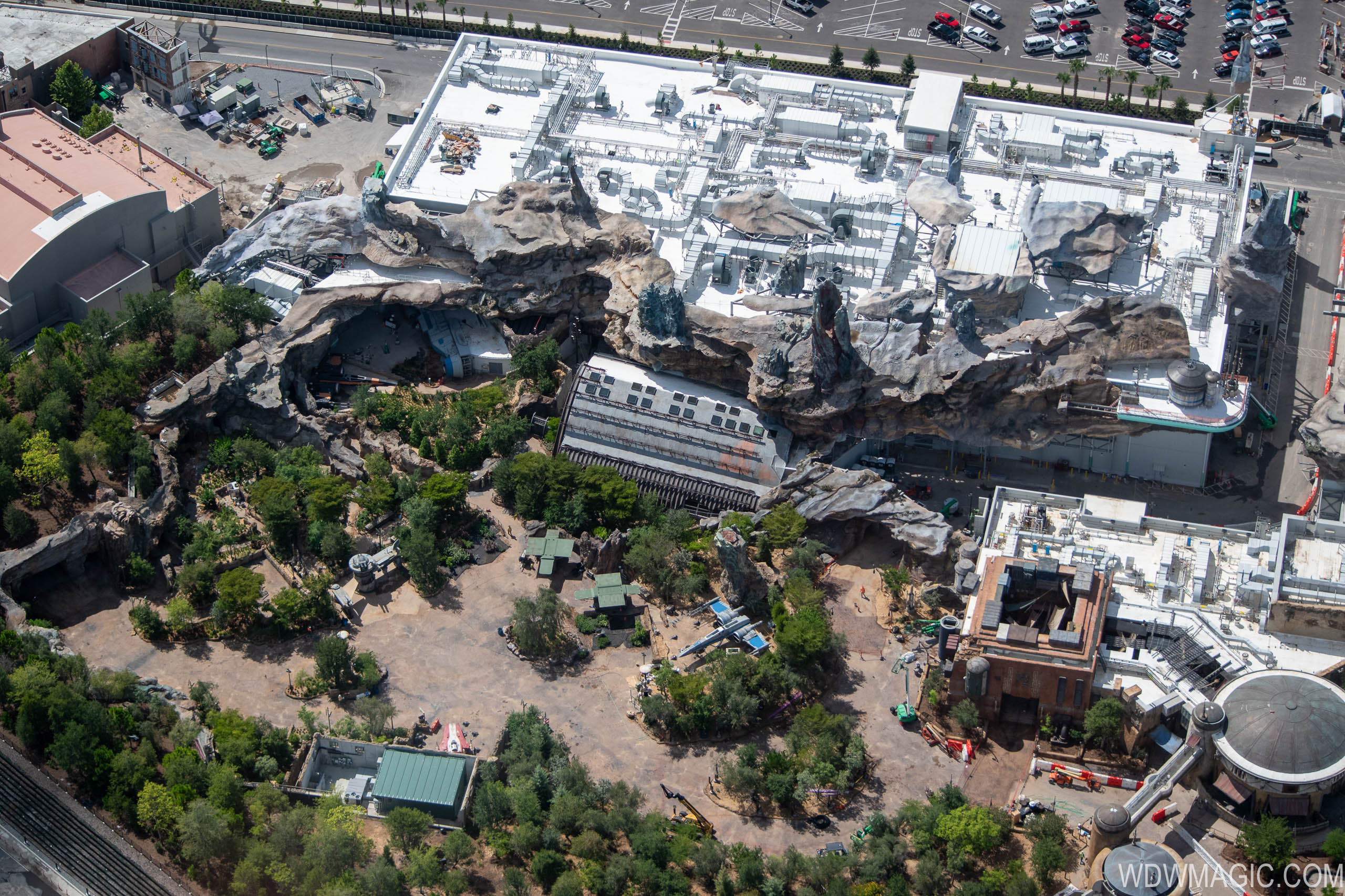 Star Wars Rise of the Resistance show building at Disney's Hollywood Studios