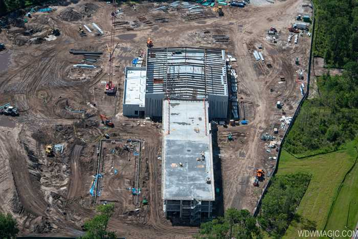 Star Wars hotel construction at Walt Disney World - July 2019