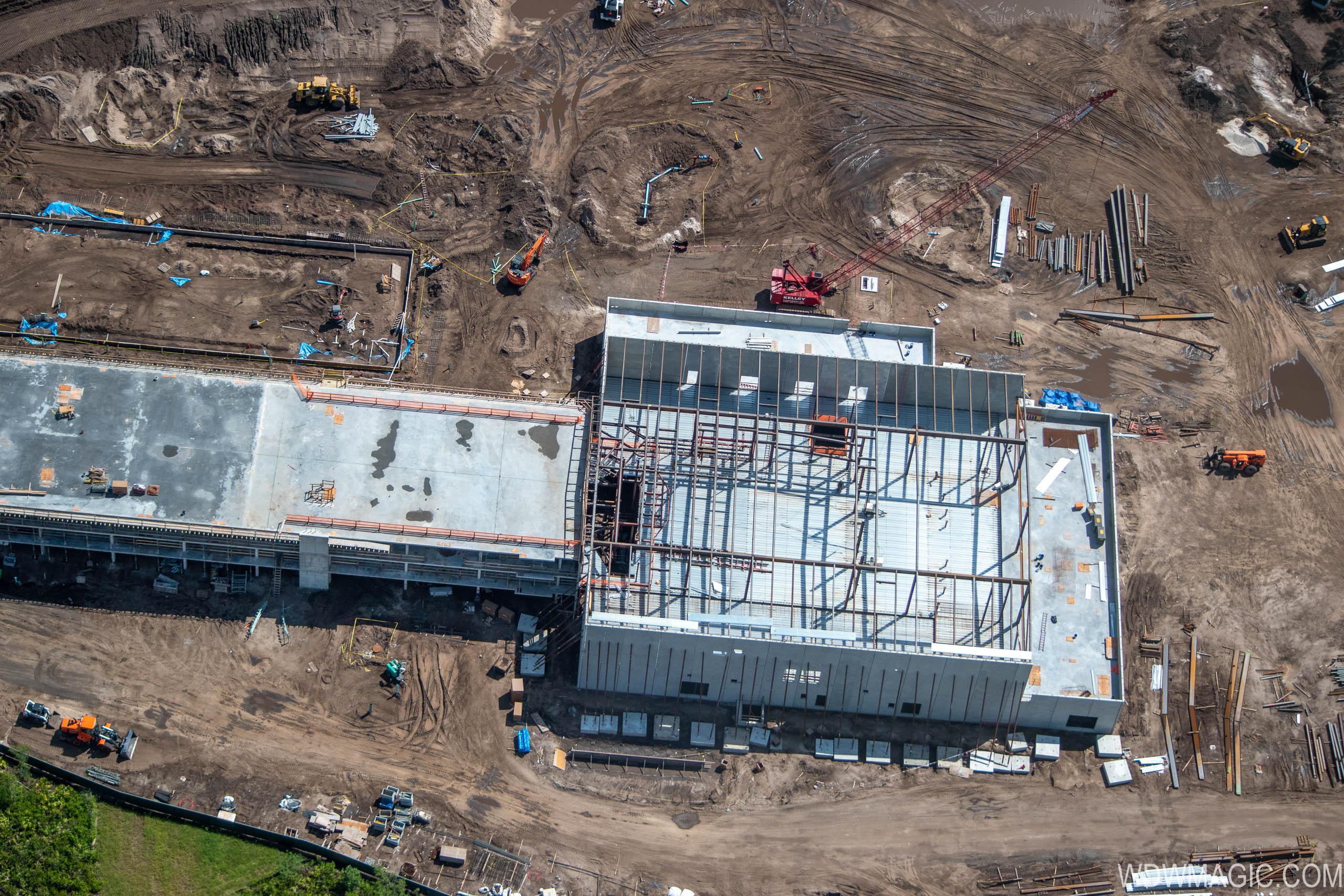 Star Wars hotel construction at Walt Disney World - July 2019