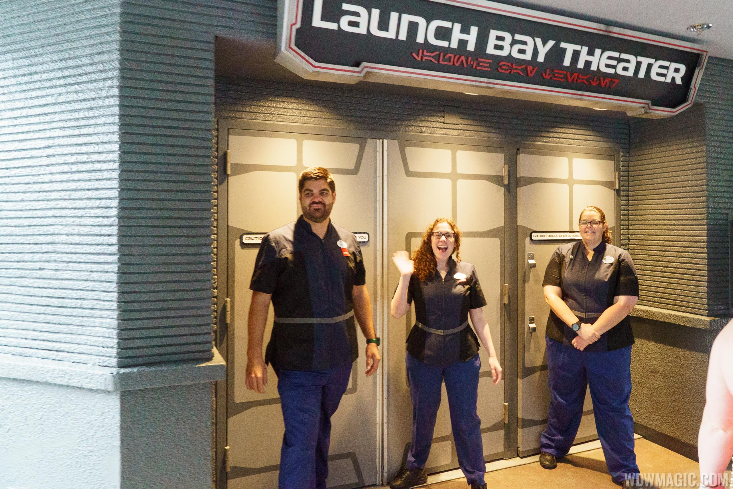Star Wars Launch Bay - Launch Bay Theater