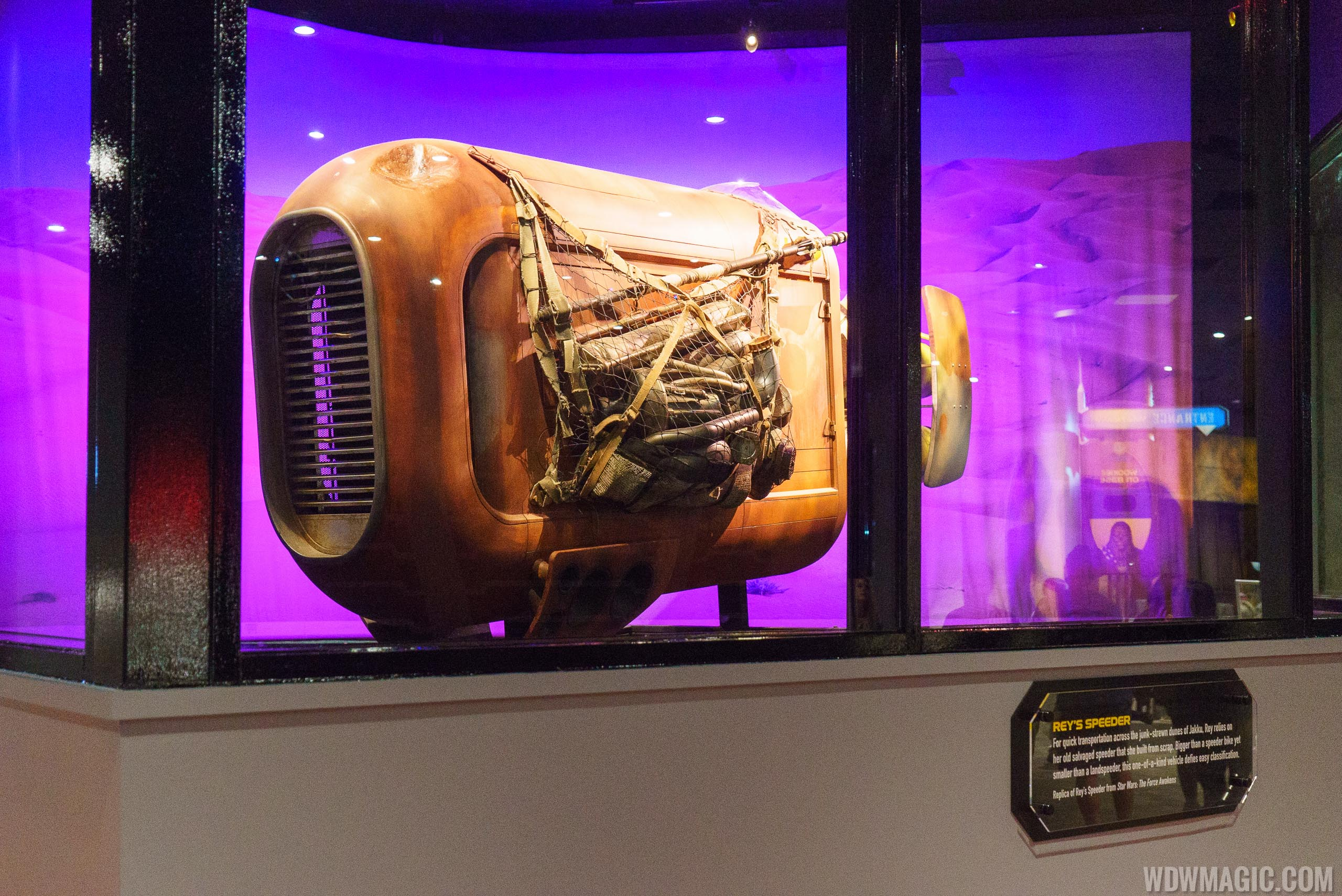 Star Wars Launch Bay - Celebration Gallery Rey's Speeder