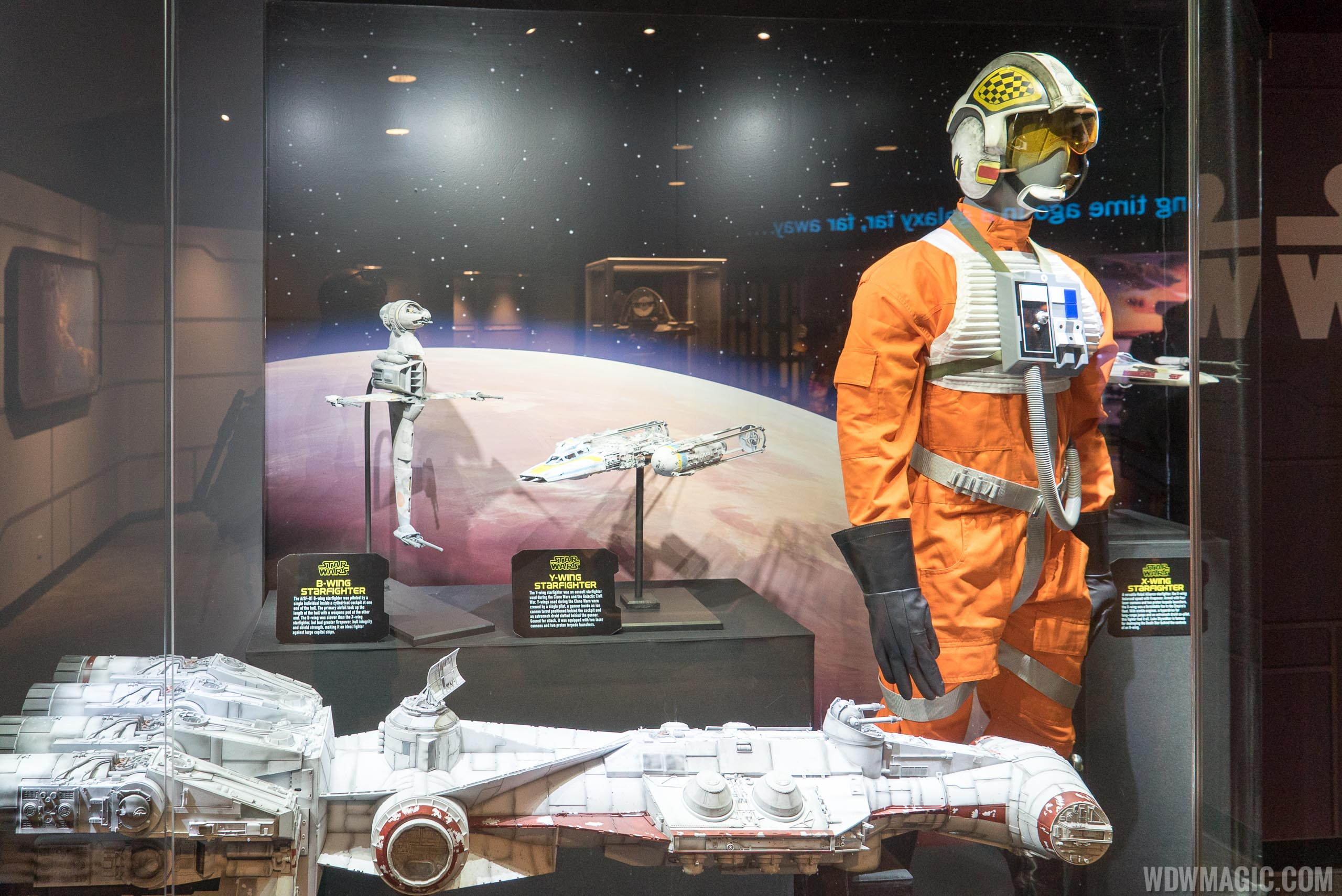 Star Wars Launch Bay - Celebration Gallery props