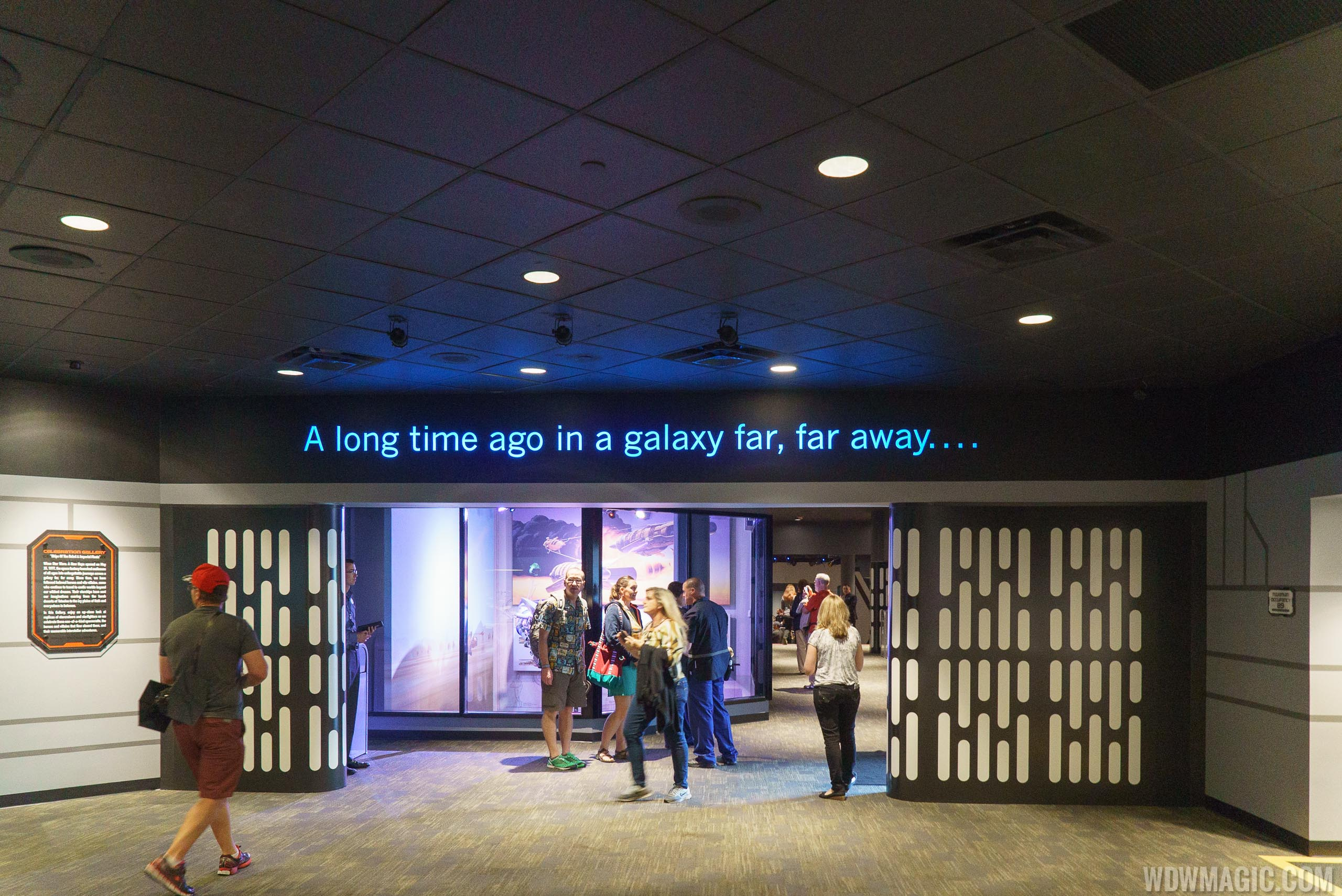 Star Wars Launch Bay - Celebration Hallway