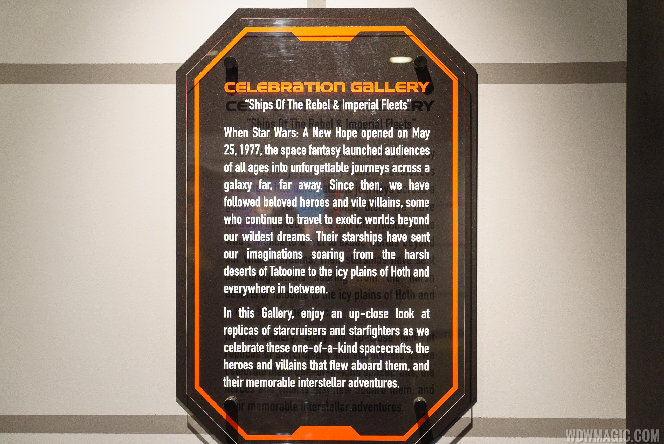 Star Wars Launch Bay - Celebration Gallery