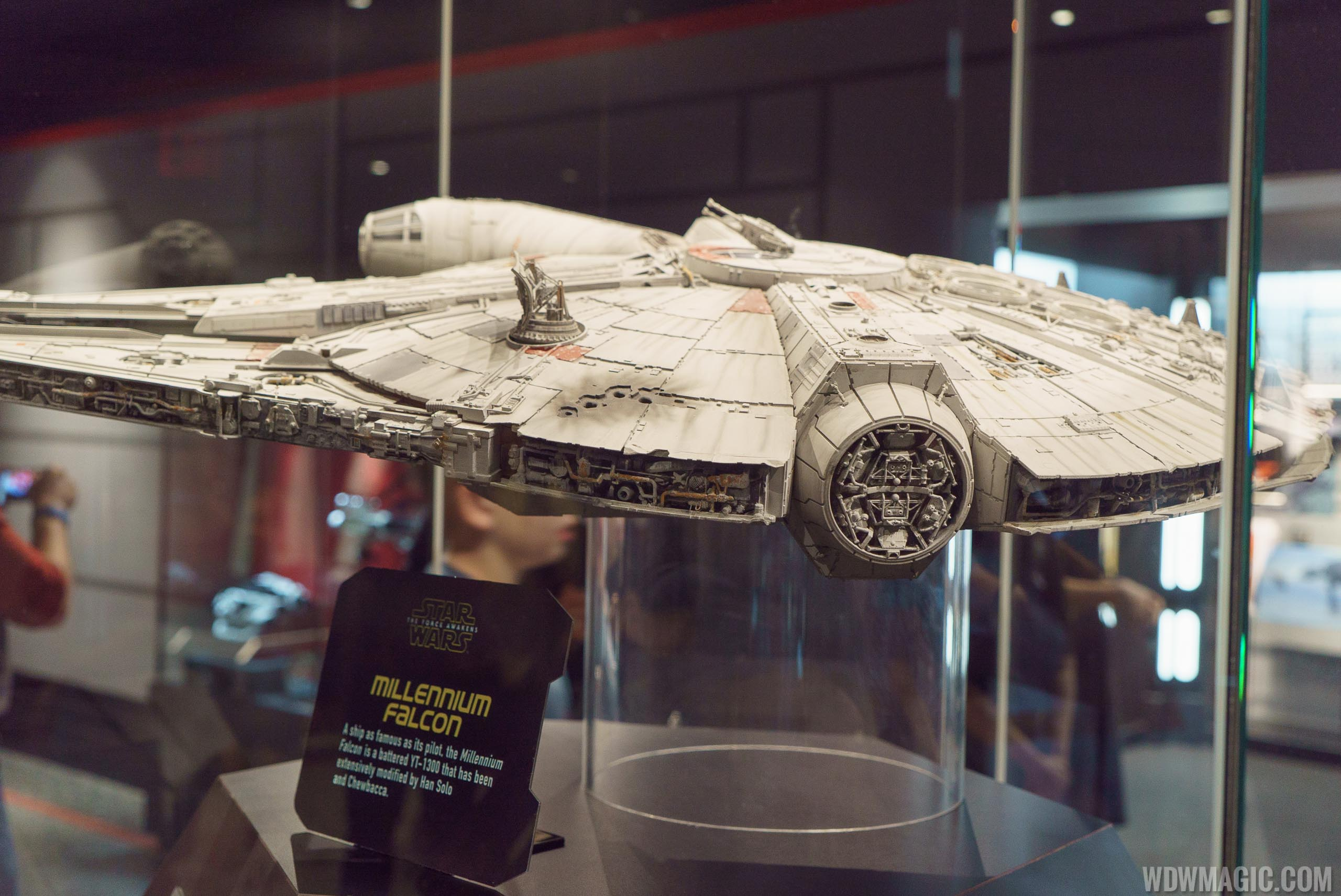 Star Wars Launch Bay - Millennium Falcon model
