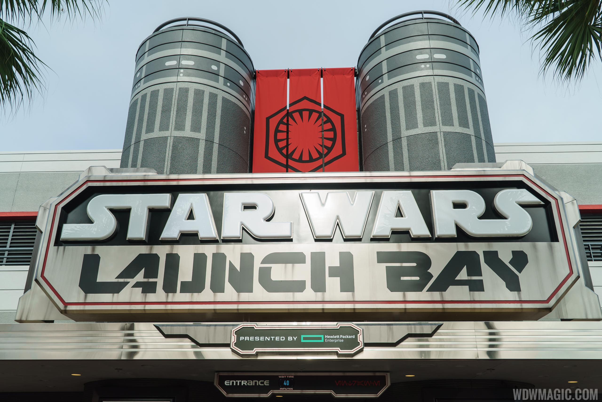 Star Wars Launch Bay entrance