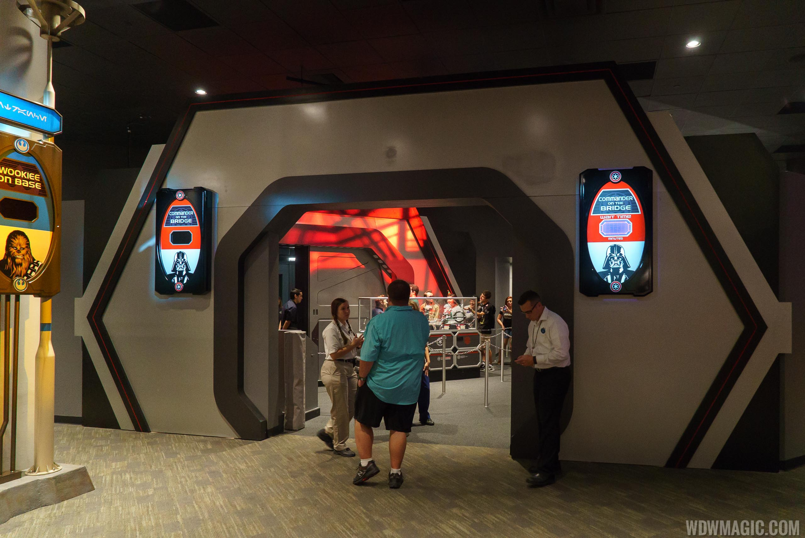 Star Wars Launch Bay - Dark Side meet and greet