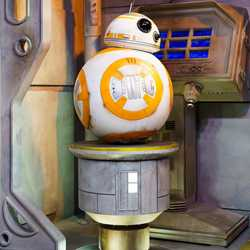 BB-8 meet and greet at Star Wars Launch Bay
