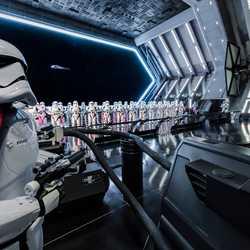 Inside Star Wars Rise of the Resistance hangar