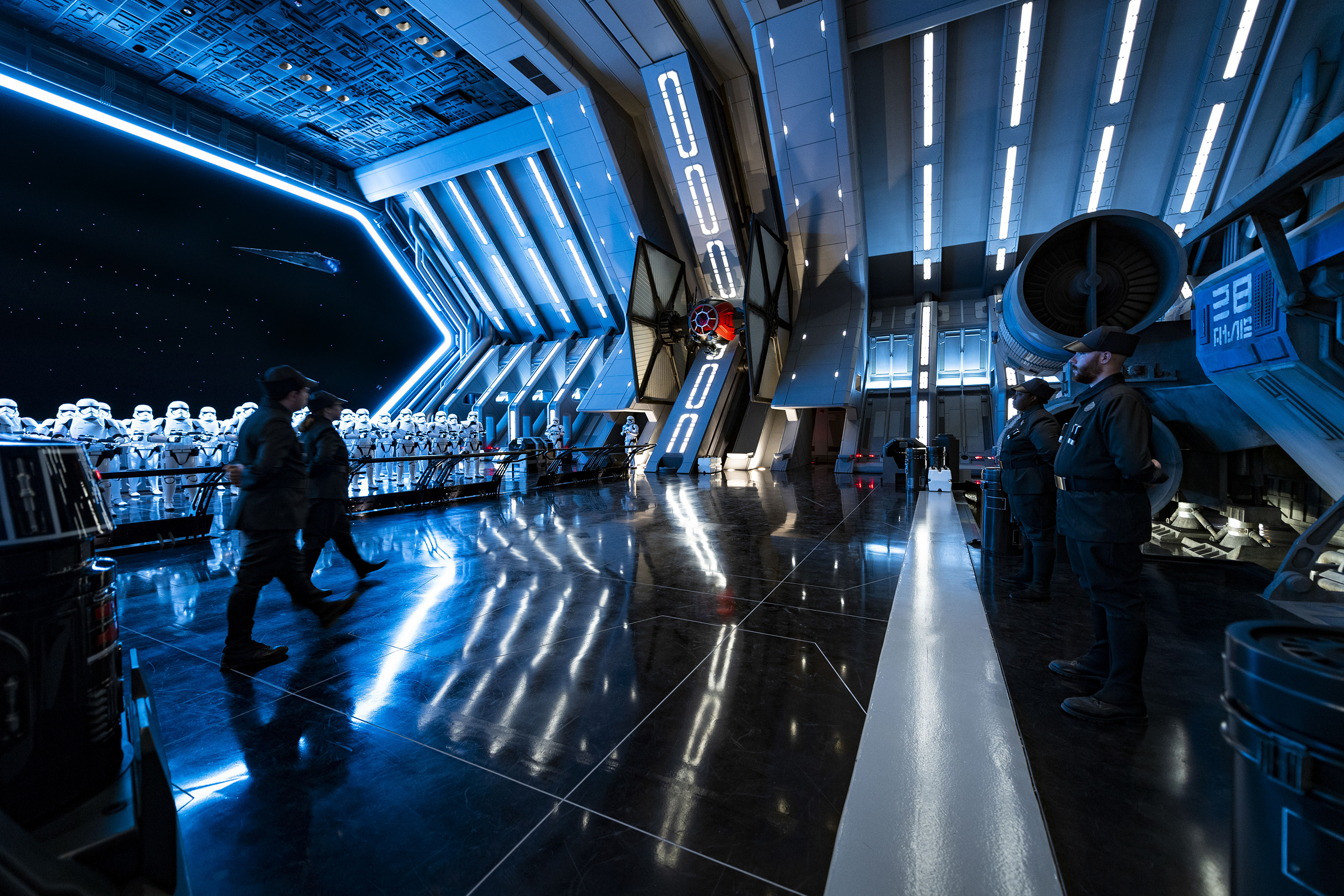 Inside the queue and ride of Star Wars Rise of the Resistance