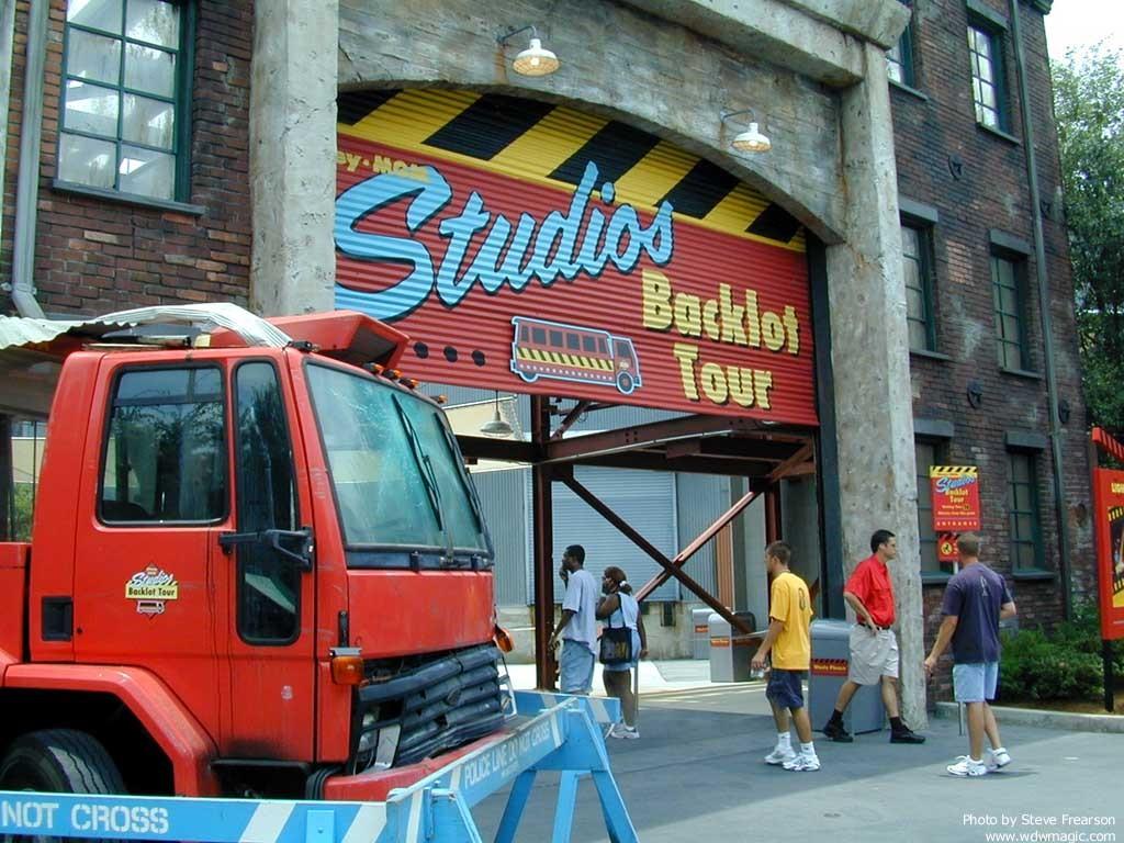 Backlot Tour photos