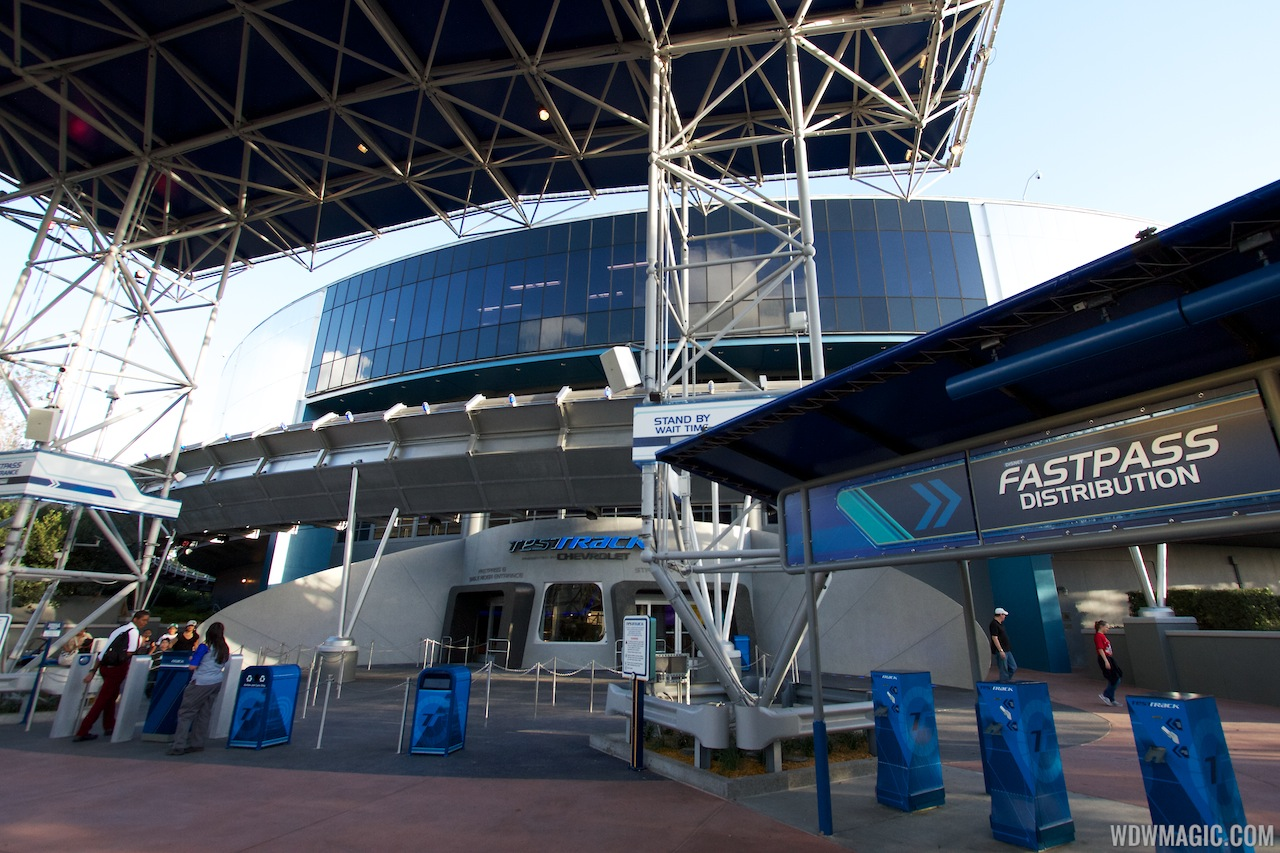 New 2012 Test Track - main entrance