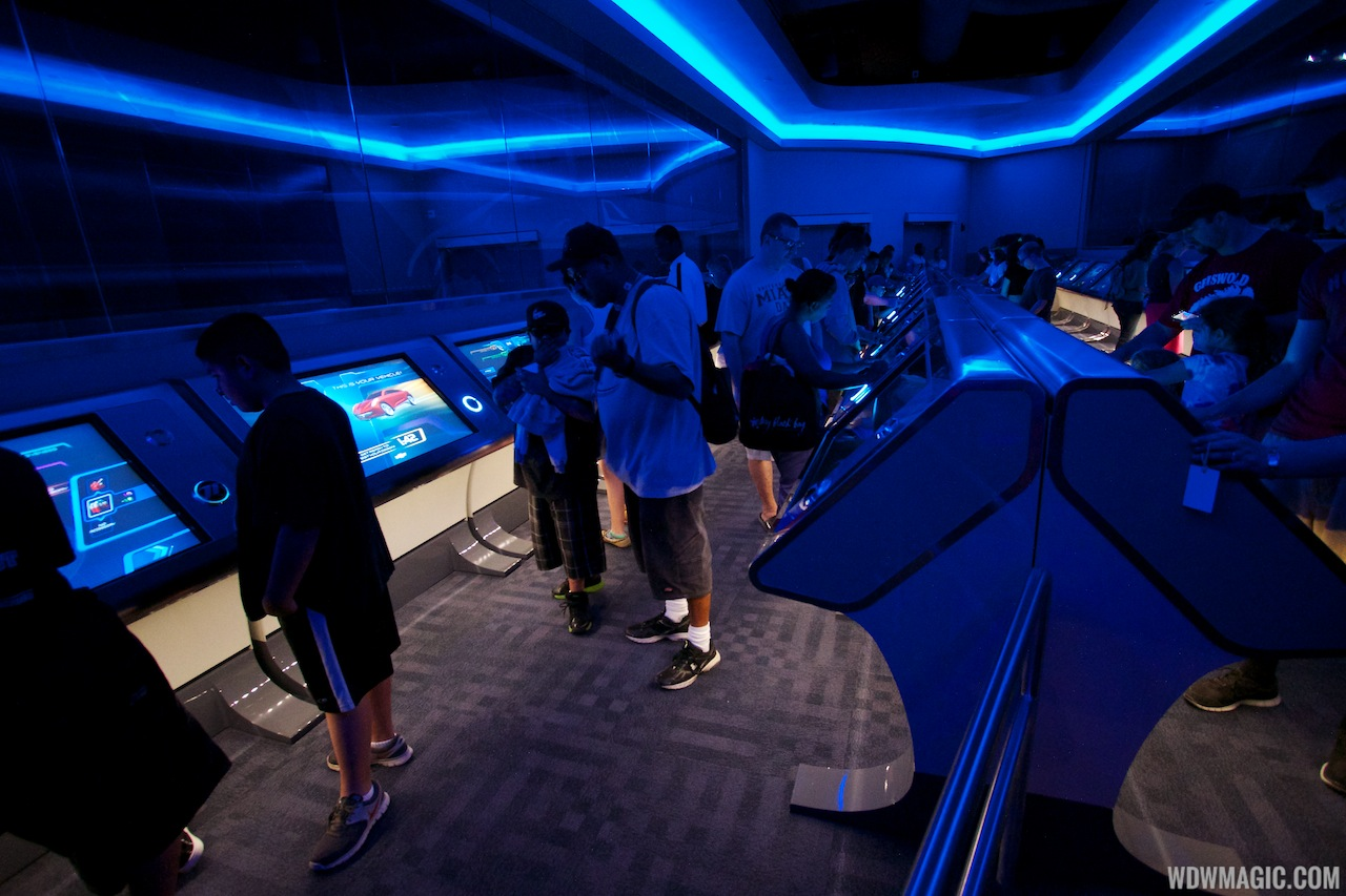 Inside the Design Studio when the updated Test Track opened in 2012