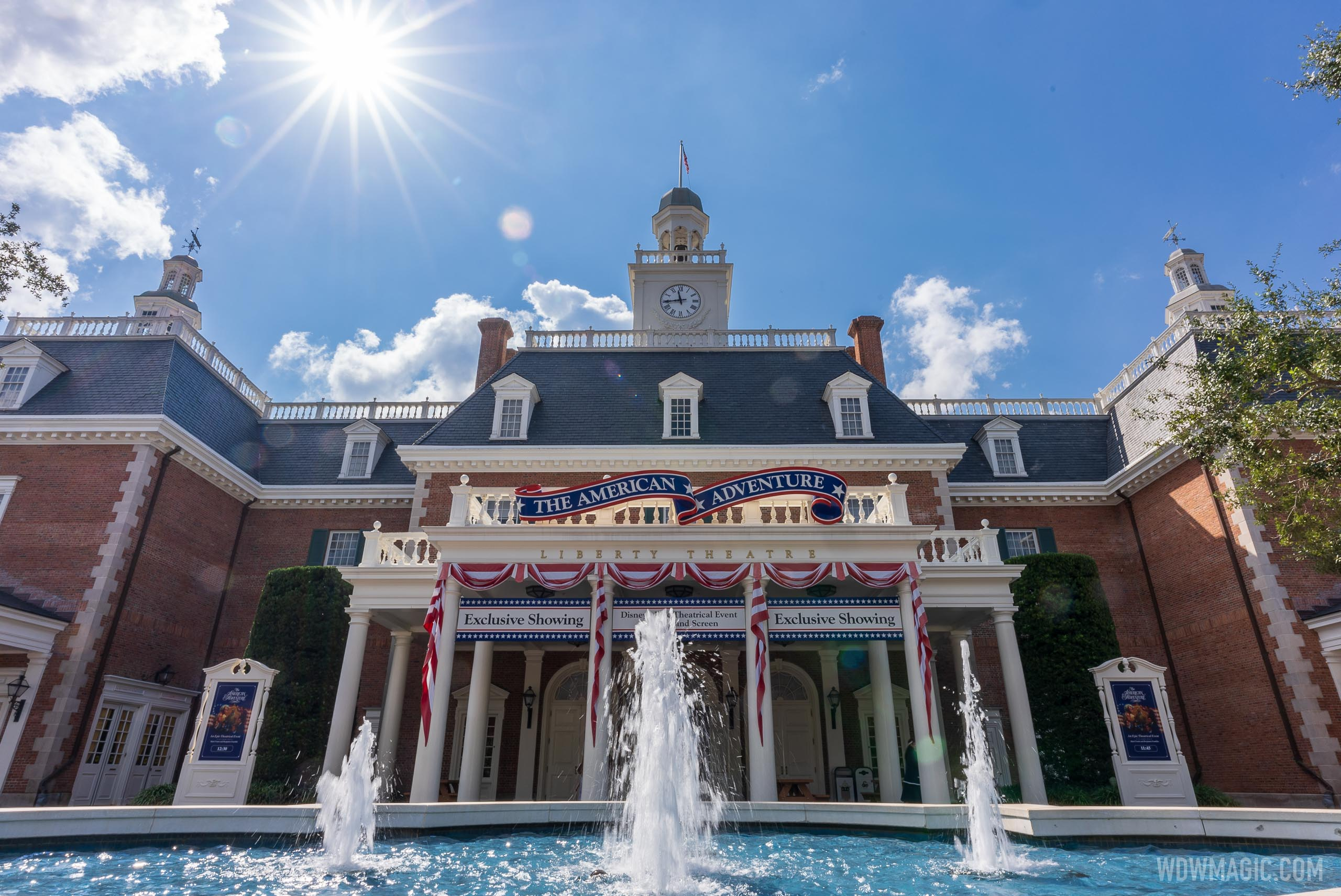 American Adventure pavilion overview