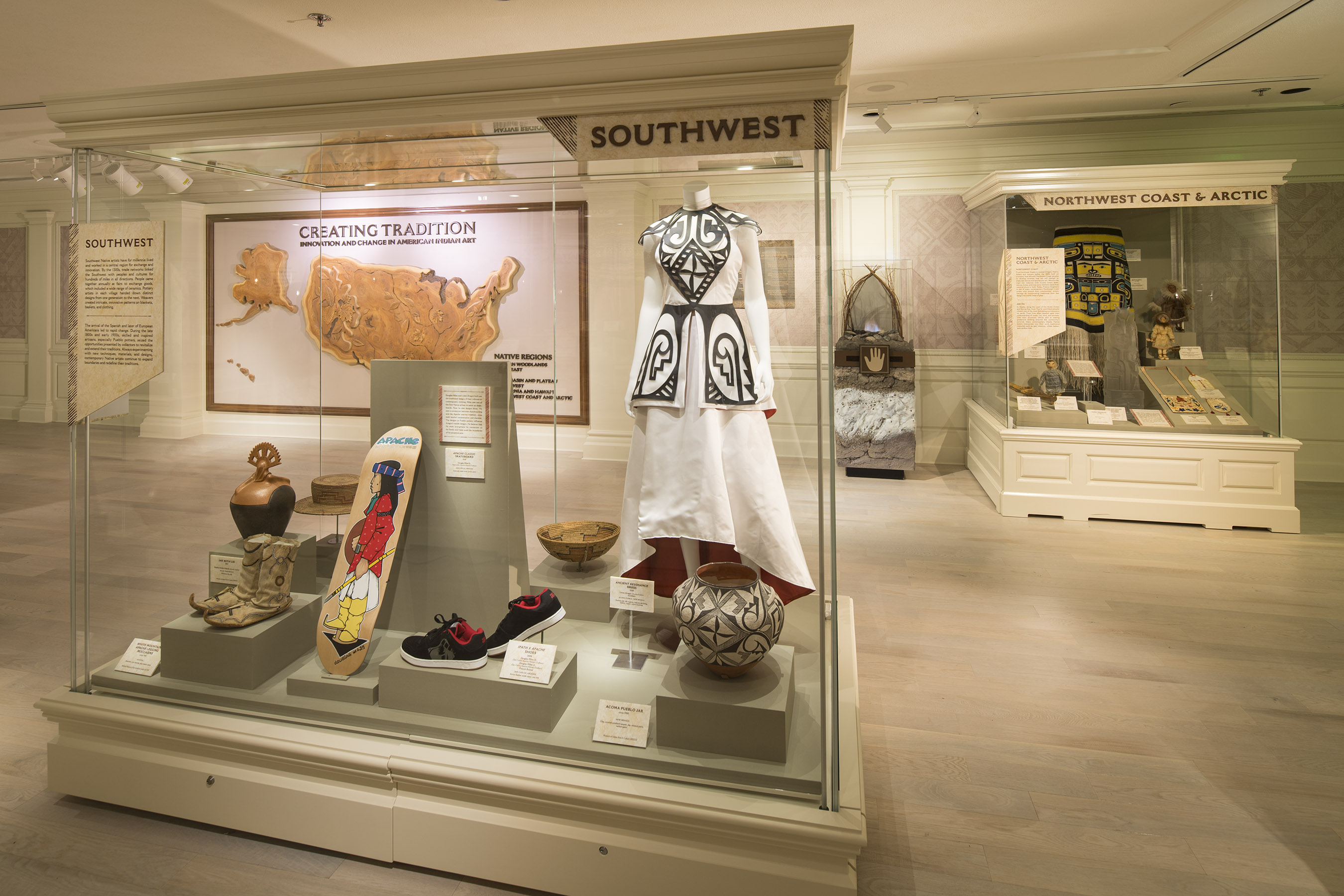 Creating Tradition: Innovation and Change in American Indian Art