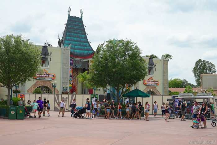Great Movie Ride exterior refurbishment