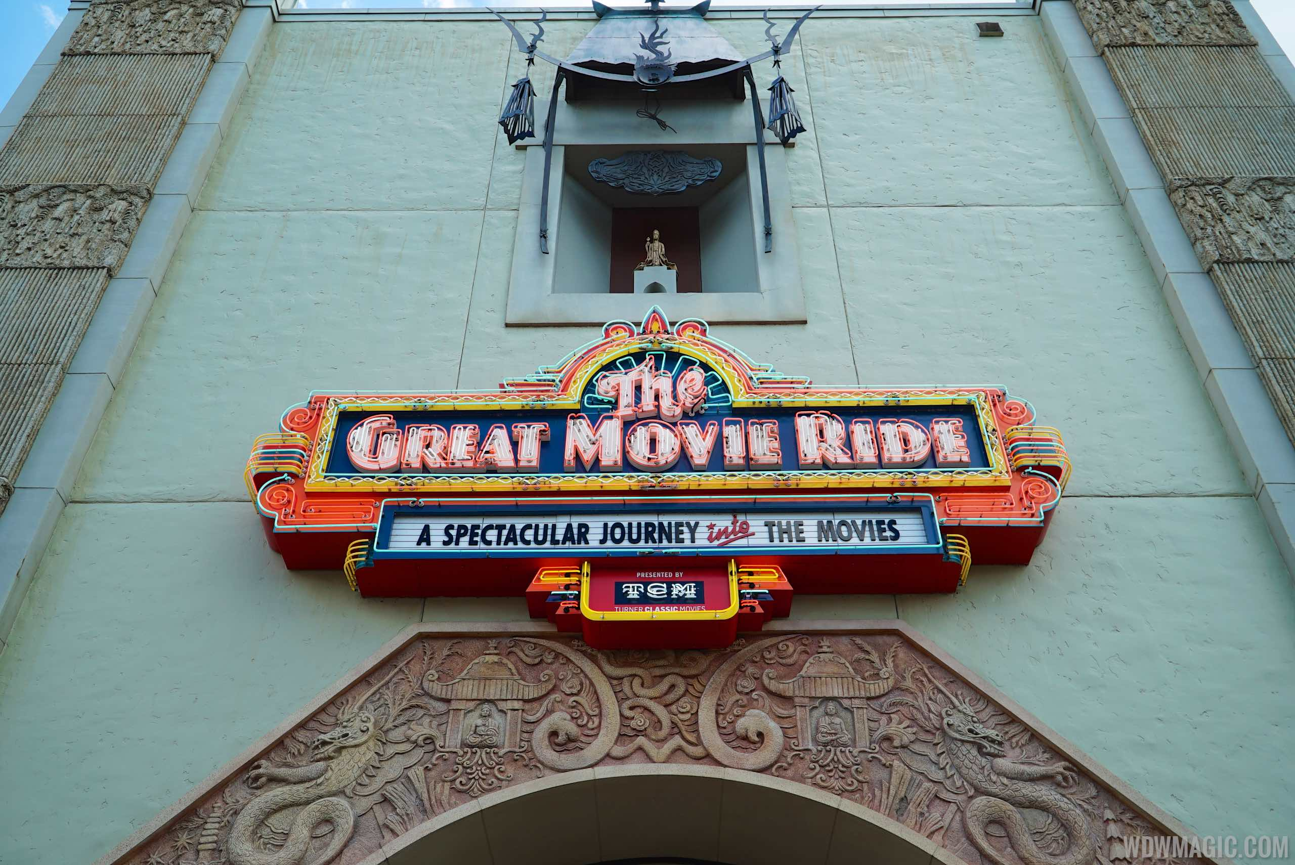 The Great Movie Ride TCM updates - Chinese Theatre exterior