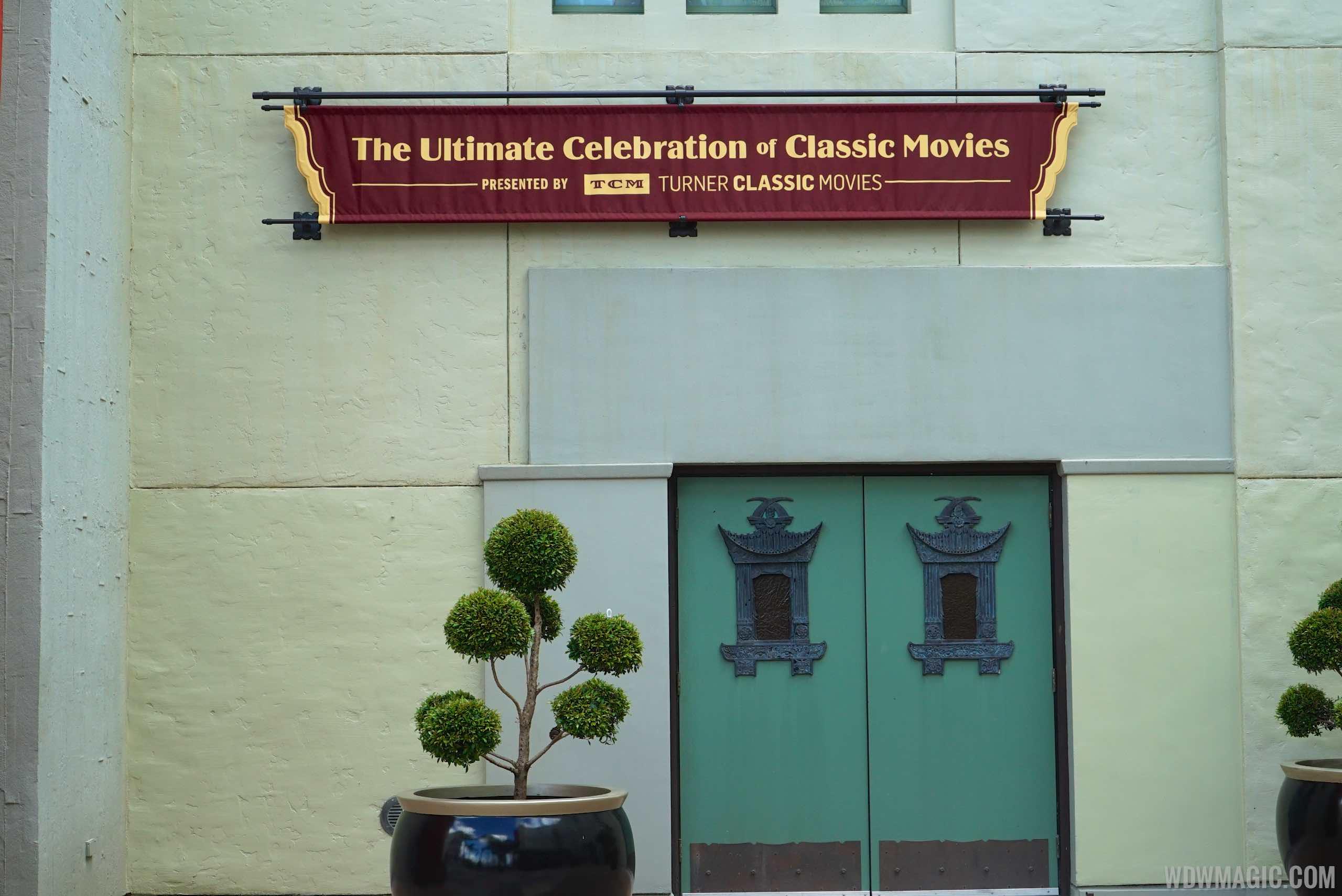 The Great Movie Ride TCM updates - New signage