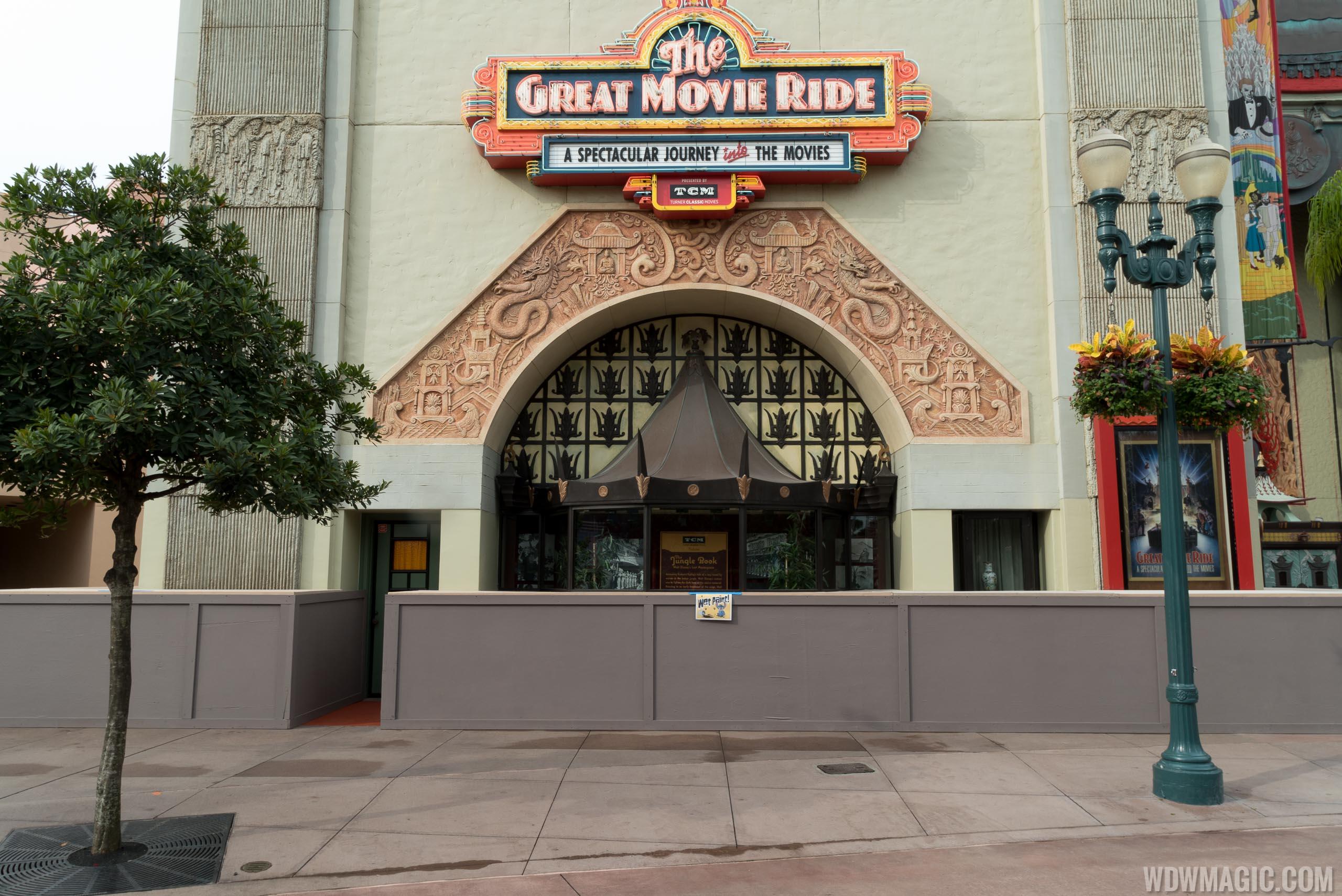 The Great Movie Ride exterior refurbishment