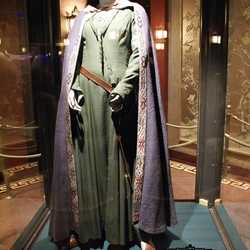 New costumes on display in the Great Movie Ride preshow