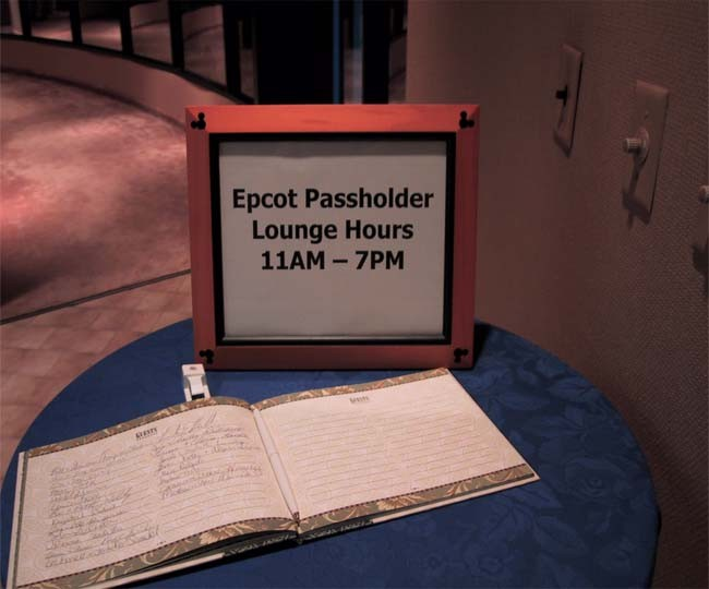 Annual Passholders lounge