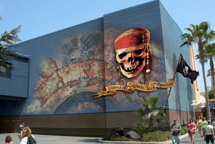 Legend of Jack Sparrow renderings