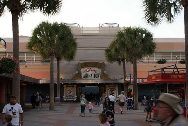 Art of Animation exterior under refurbishment
