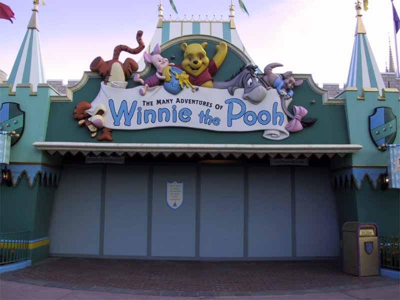 Winnie the Pooh closed for refurbishment