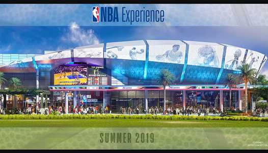 Opening date set for The NBA Experience at Disney Springs