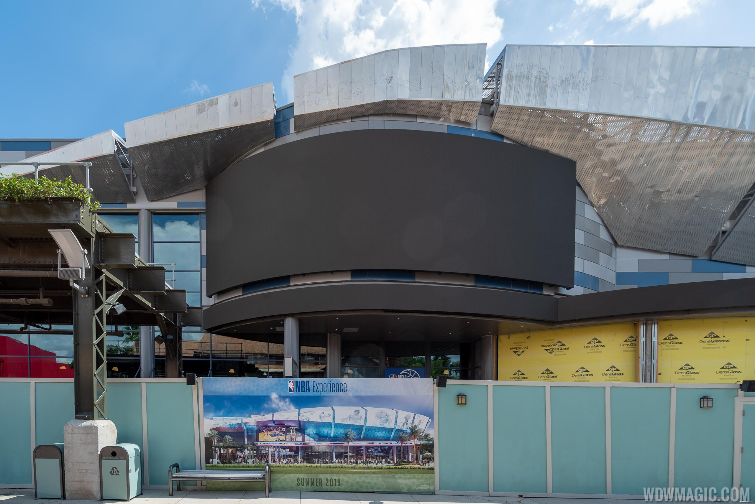 The NBA Experience and City Works construction - June 2019