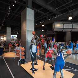 NBA Experience Store overview