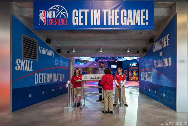 Tour of The NBA Experience at Disney Springs
