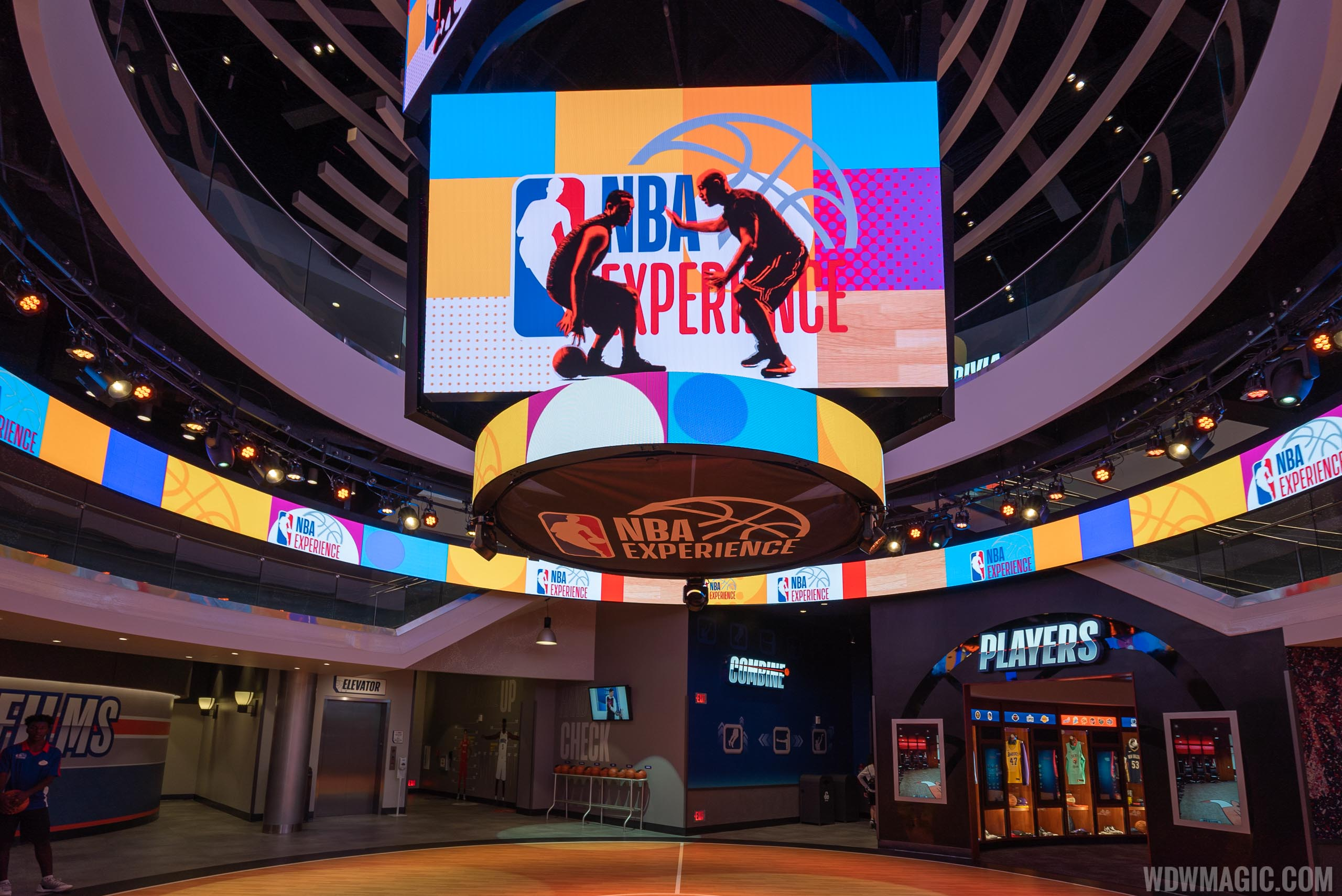The NBA Experience is part of the new ticket add-on.