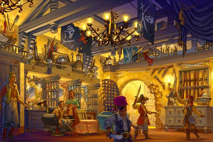 The Pirates League concept art