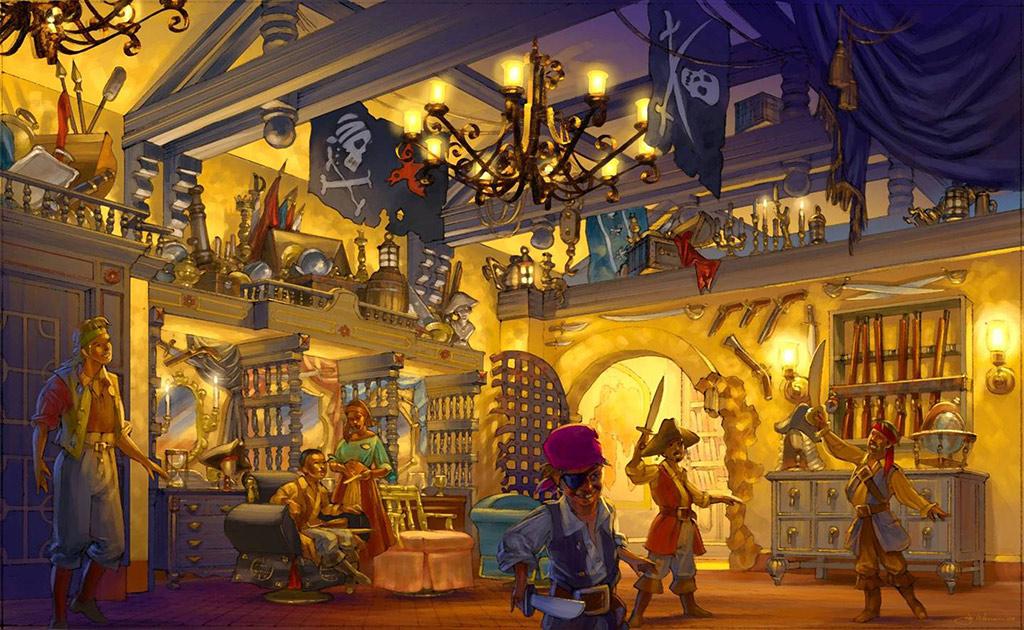 The Pirates League concept art