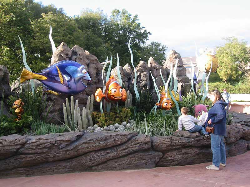 New Nemo photo op area