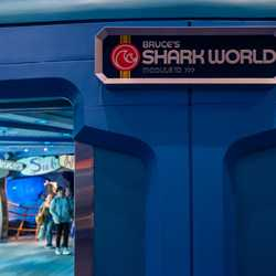New signage inside the Seas with Nemo and Friends