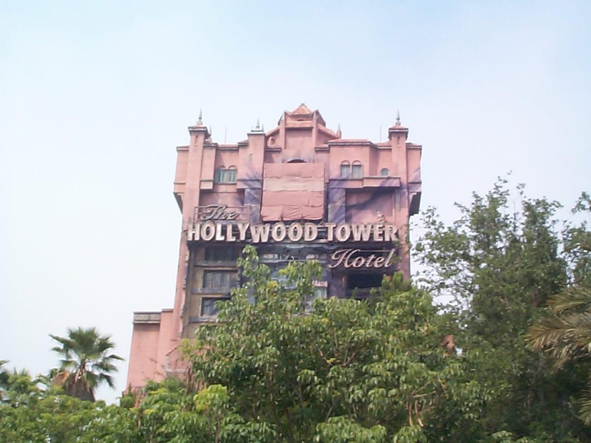 Tower of Terror refurbishment