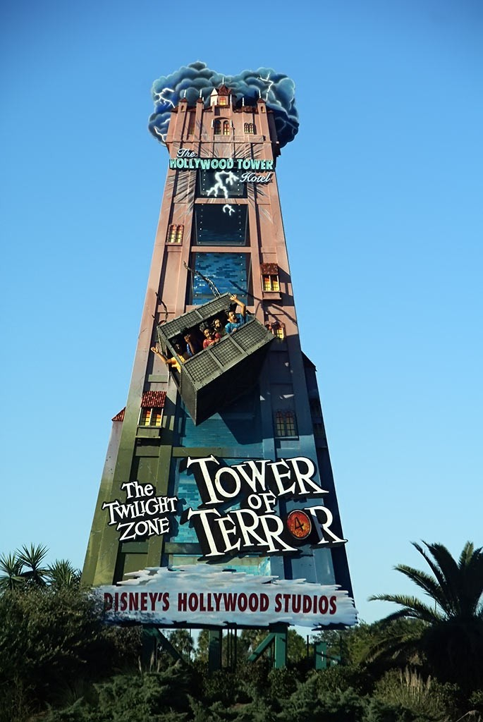 tower of terror promotional sign update