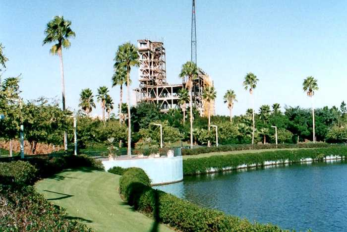 Tower of Terror construction - 1993